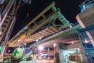 阪神高速 西船場JCT(信濃橋渡り線)改築建設工事